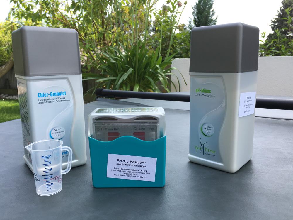 Wasserpflege nach Neubefüllung