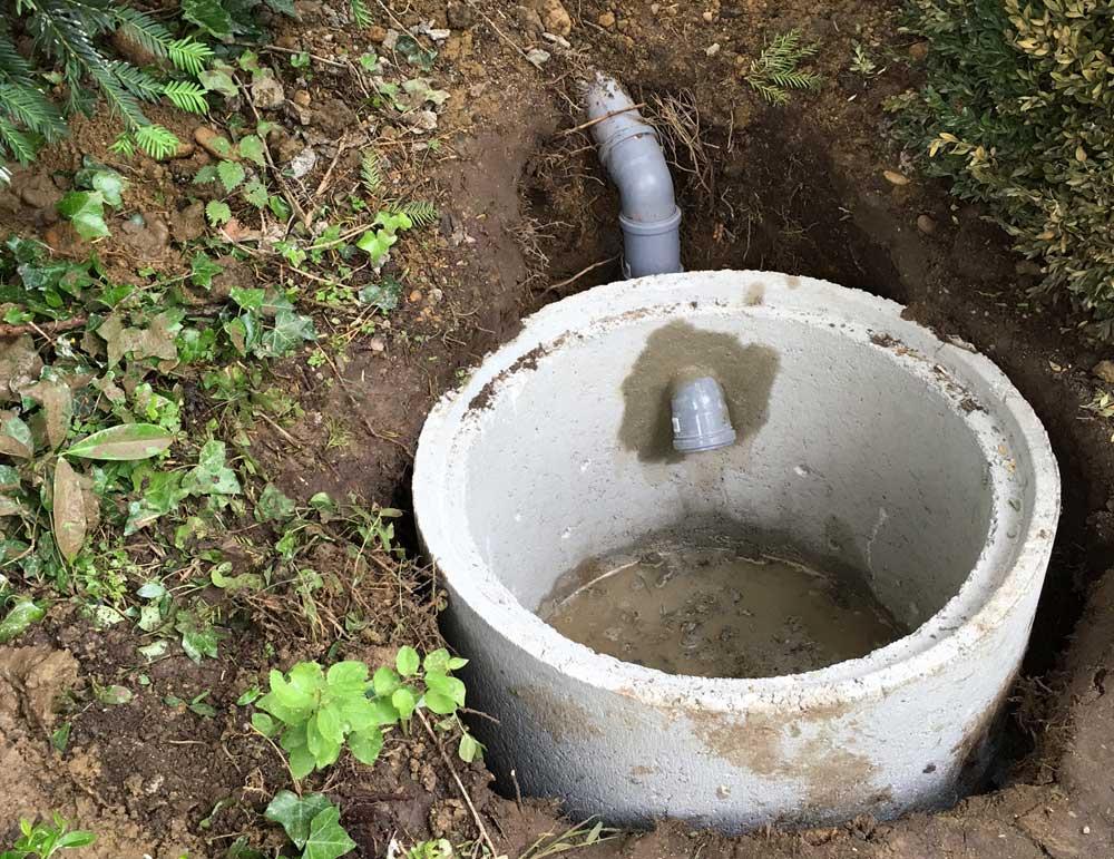 Bekannt Sickerschacht für Wasserablauf • Whirlpool im Garten YV82